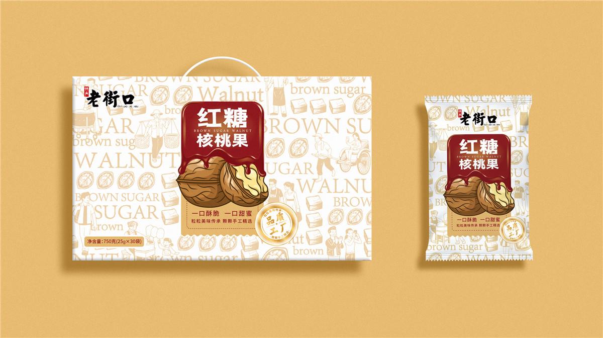 红糖包装设计图画