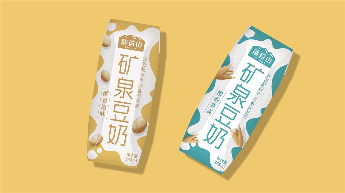 豆奶盒包装设计