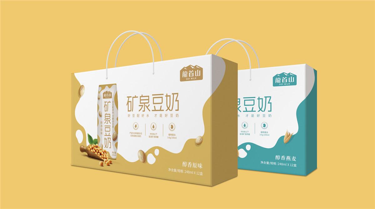 奶盒包装设计