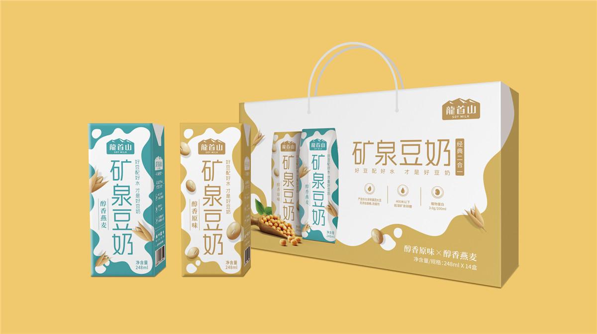 牛奶礼盒包装设计