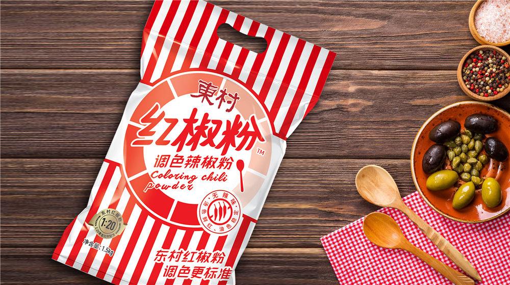 辣椒面包装设计