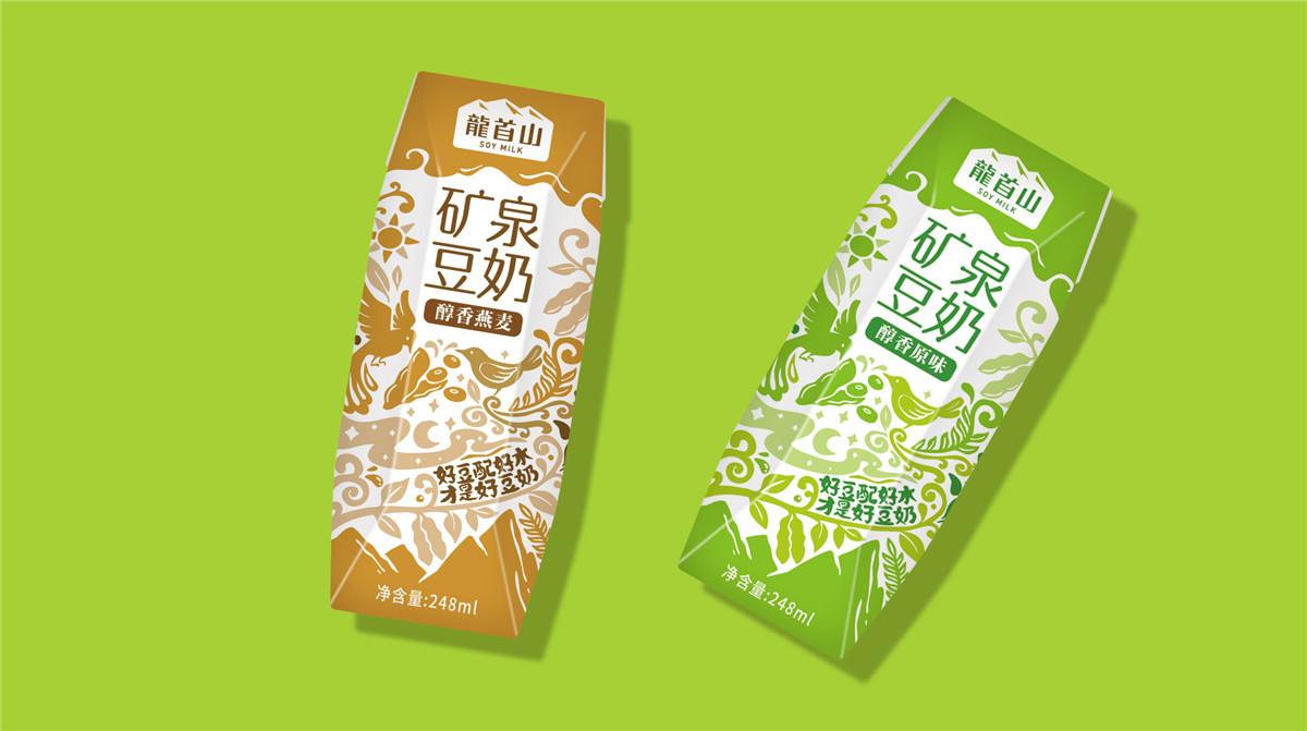 豆奶钻石包装设计