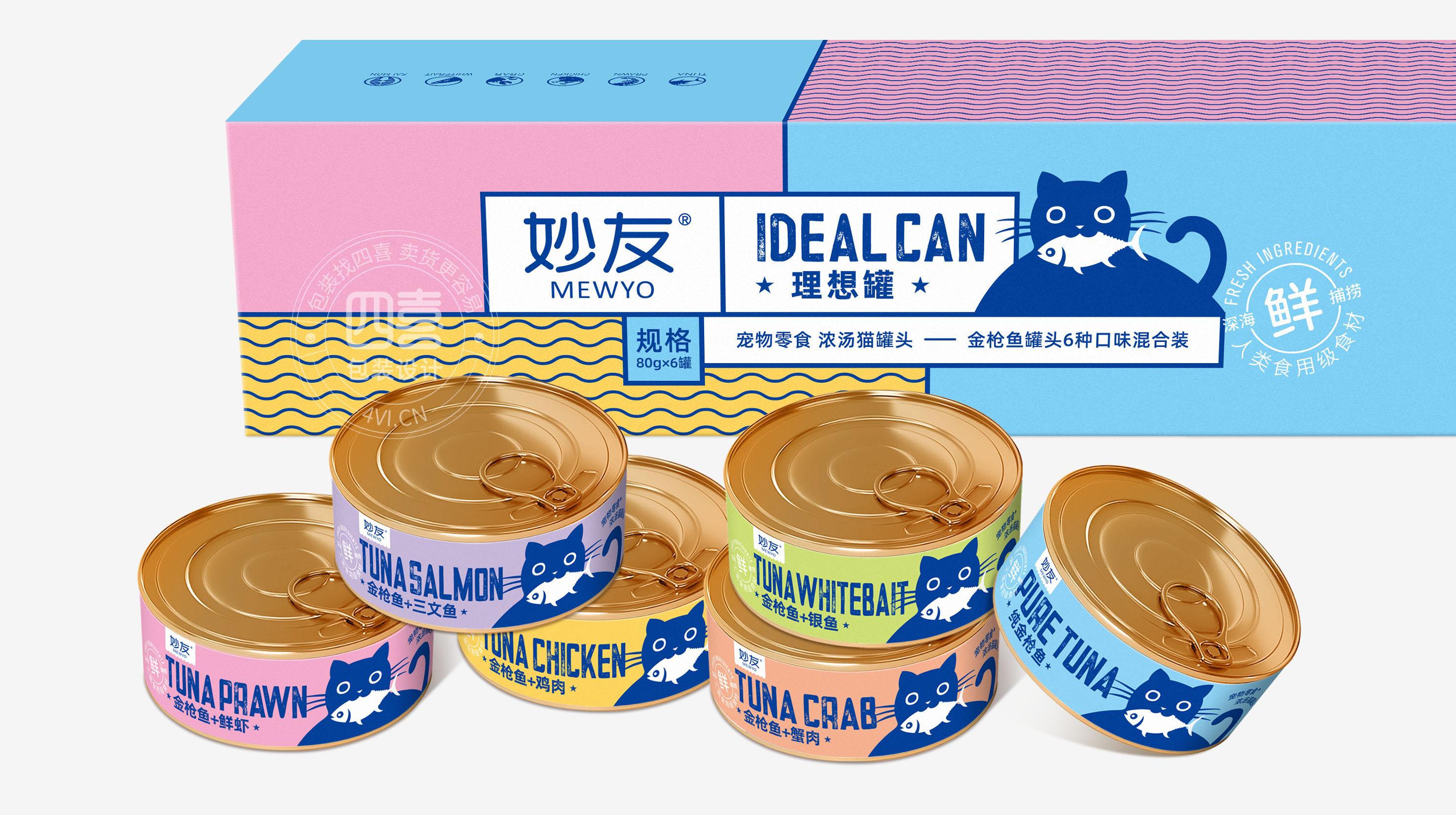 猫罐头包装尺寸